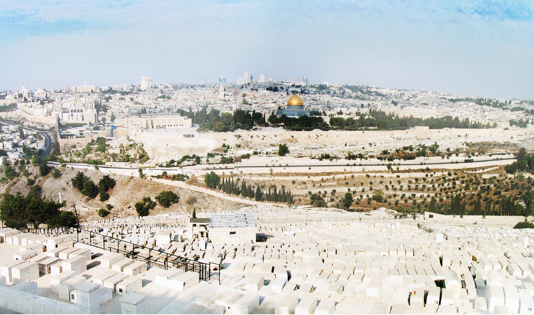 01 panorama - Izrael