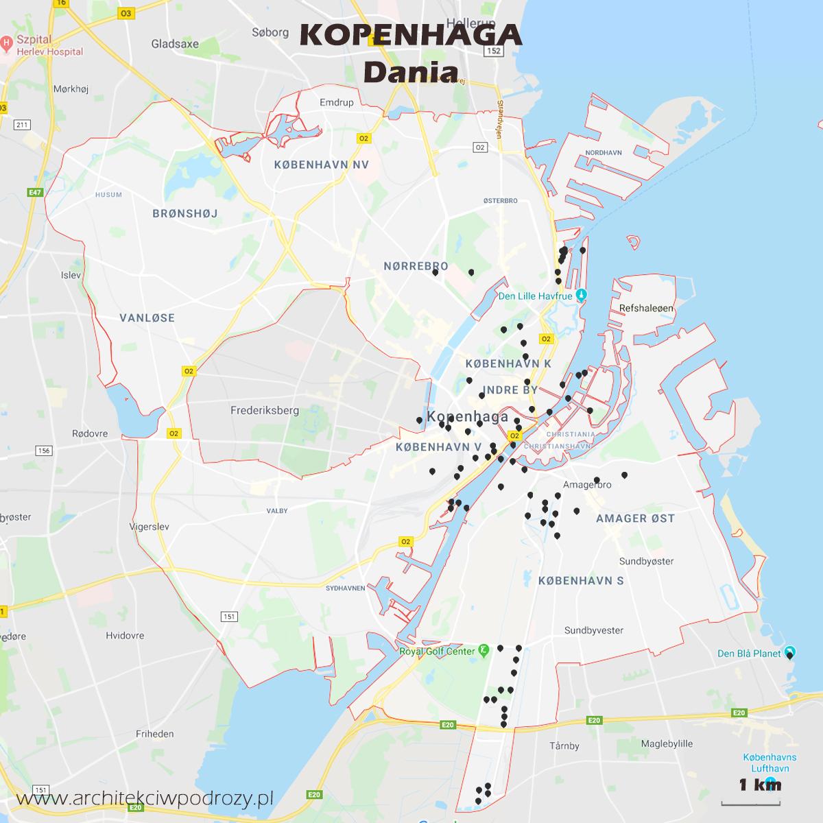 Kopenhaga Architour Architekci W Podrozy