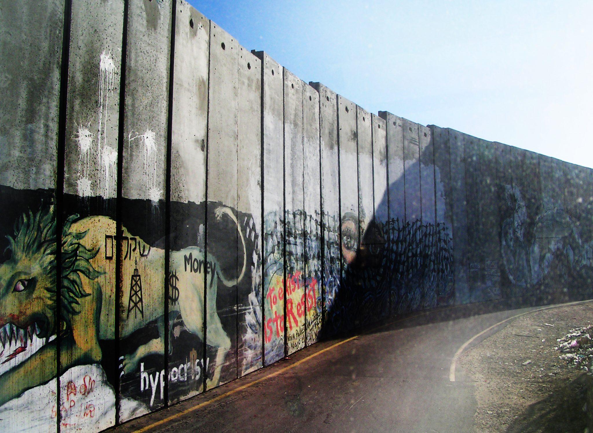 06 mur betlejem - Izrael