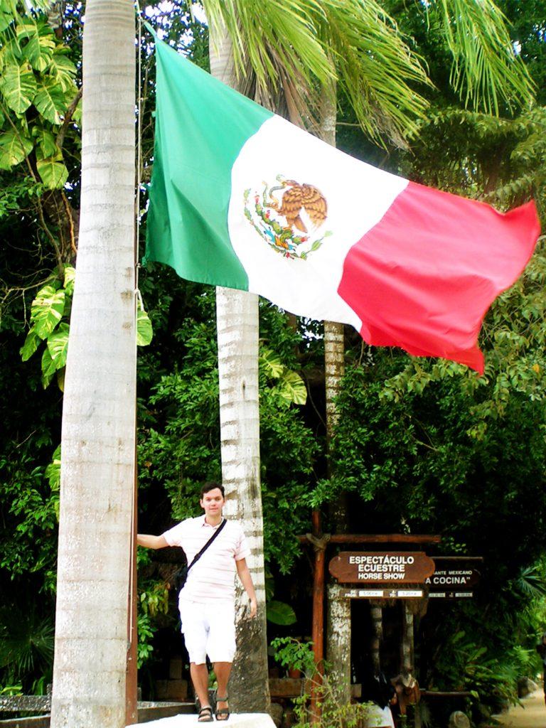 12 xcaret flaga e1578917839982 - Meksyk - Xcaret