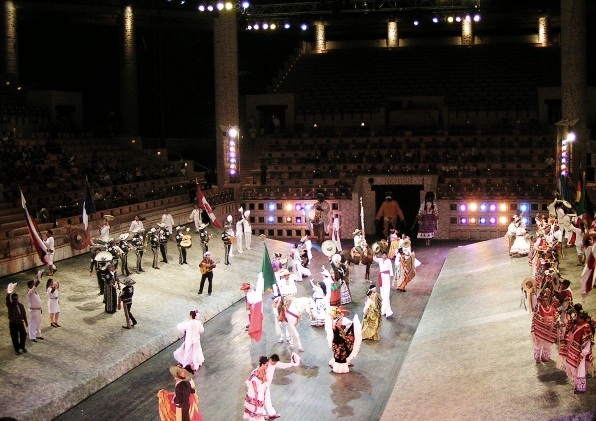 18 xcaret show - Meksyk - Xcaret