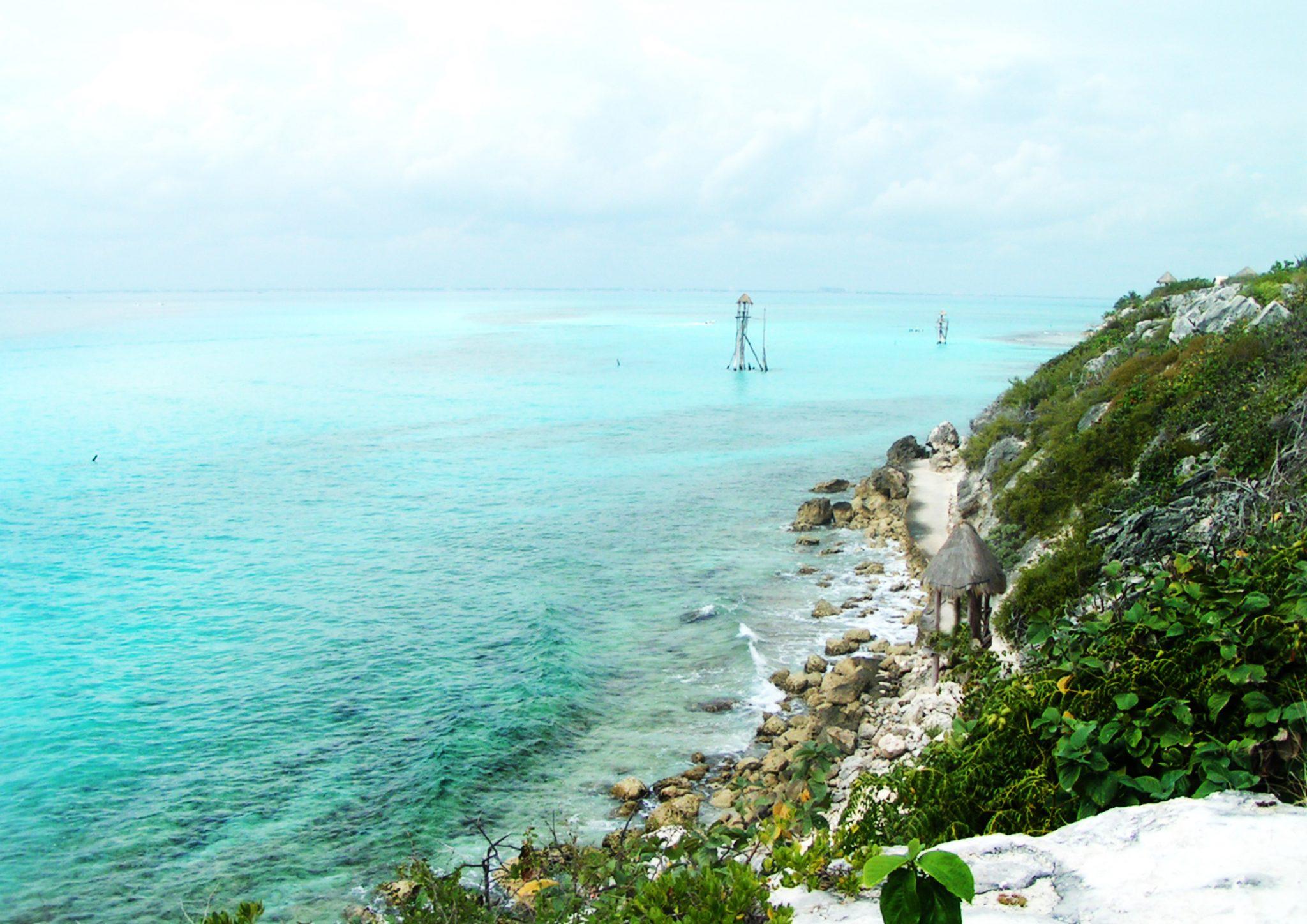 IslaMujeres12 - Meksyk - Jukatan - plaże i cenoty