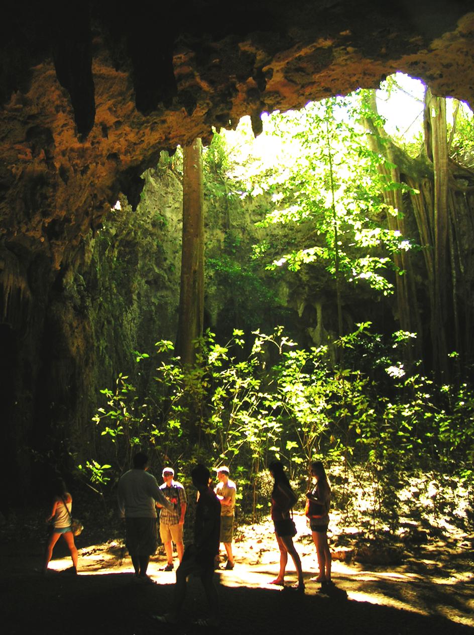 Jaskinia Luliana - Meksyk - Jukatan - plaże i cenoty