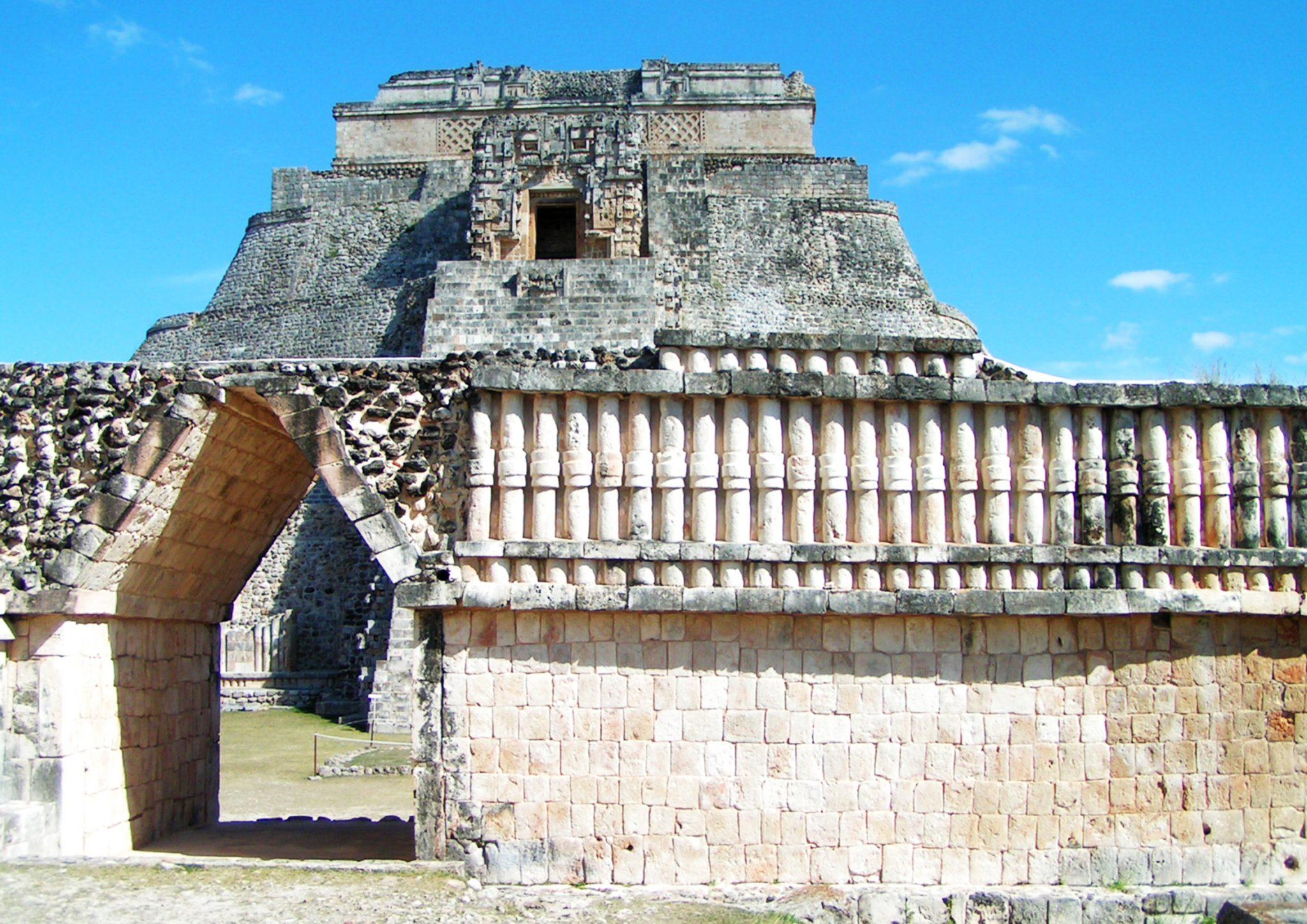 Uxmal1 - Meksyk śladami Majów