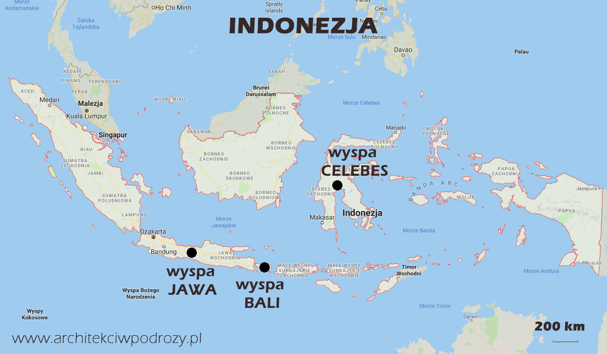 01 INDONEZJA mapa r1 - Indonezja- informacje ogólne