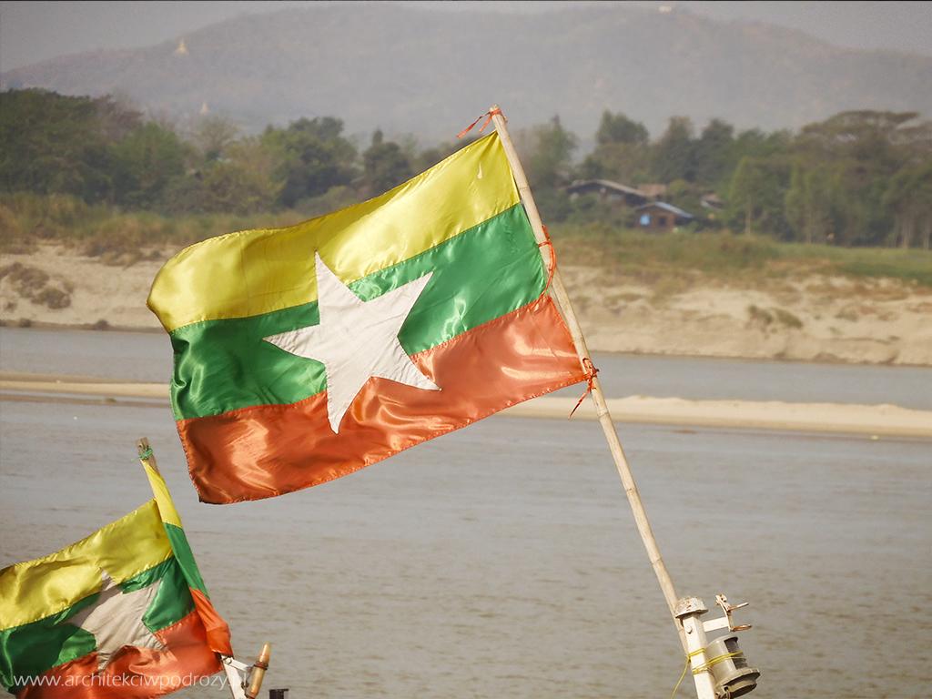 001 flaga - Myanmar informacje ogóle
