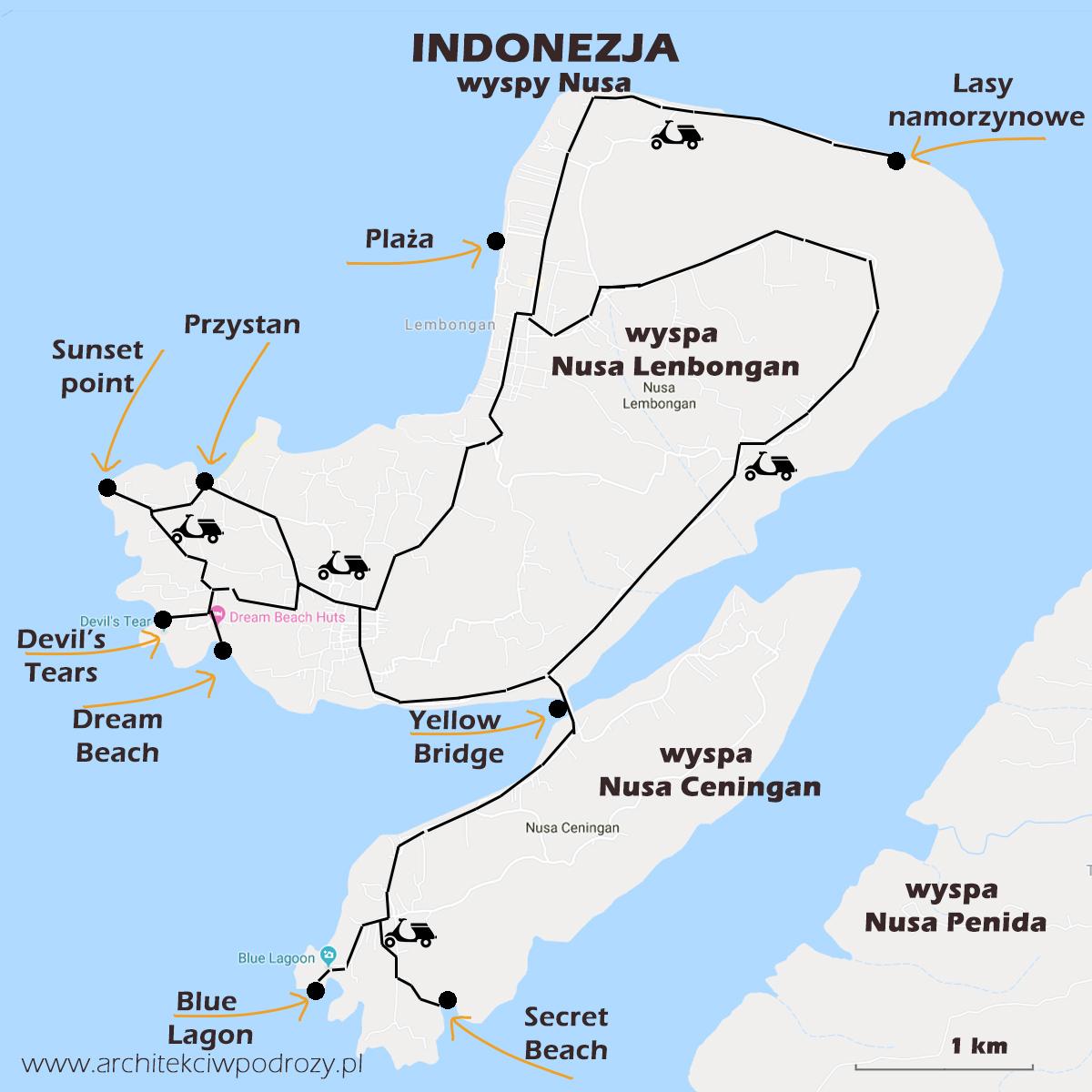 03 NUSA mapa r2 - Bali i Nusa Lembongan