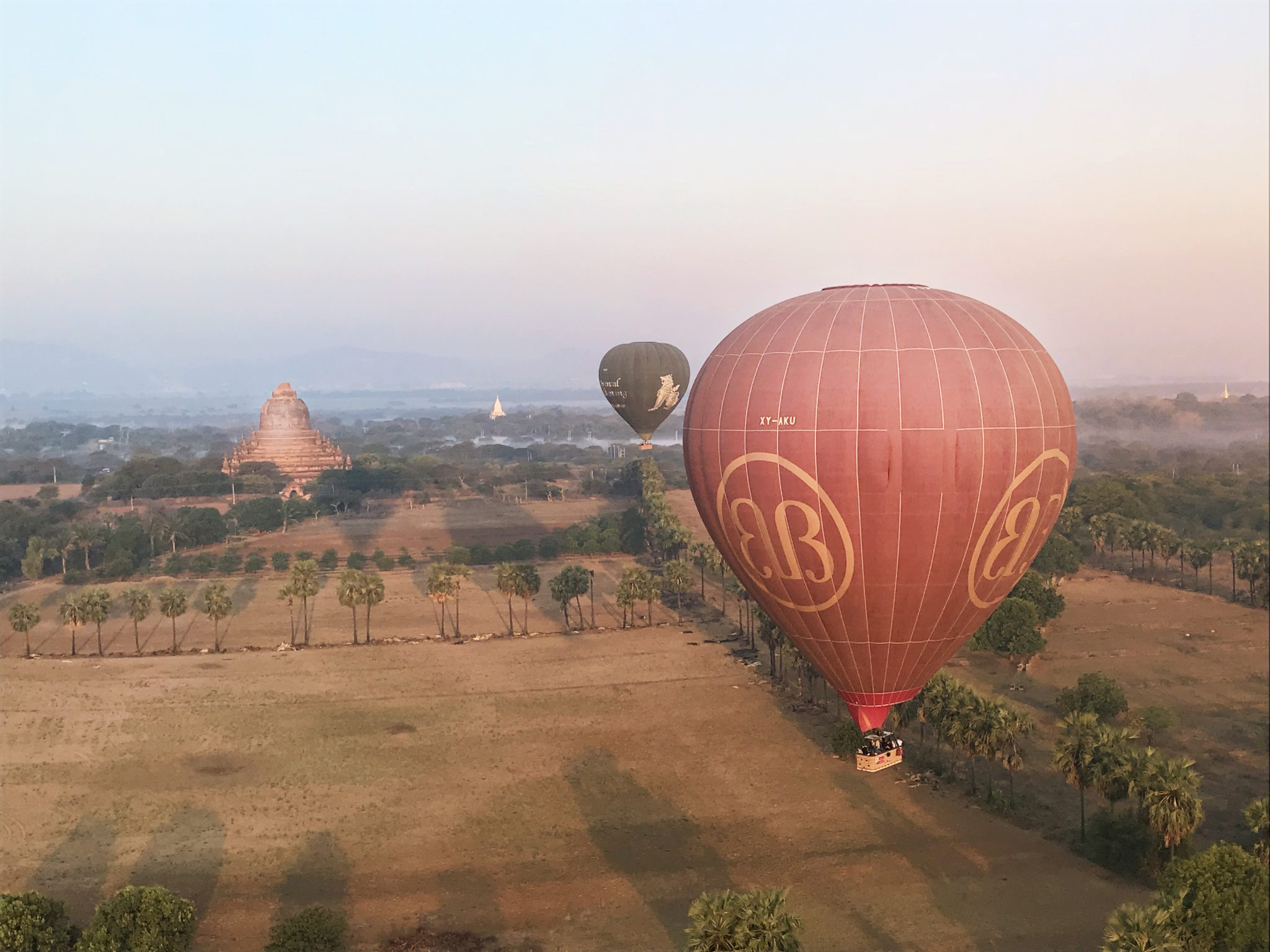 bagan balony 2 - Myanmar informacje ogóle