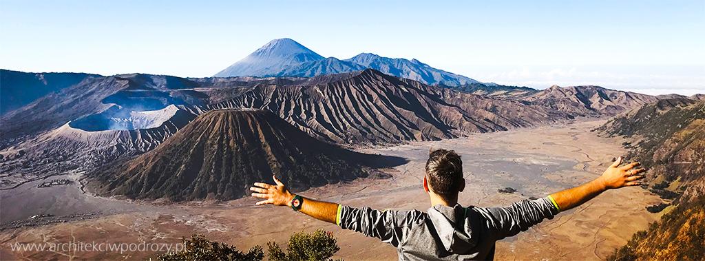 bromo12 - Jawa: wulkan Ijen, Bromo, Yogyakarta i świątynie