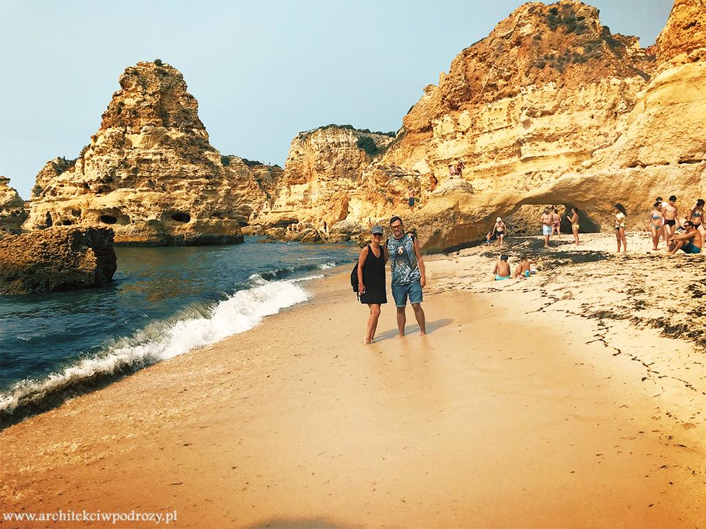 marinha beach - Portugalia-informacje ogólne i wybrzeże Algarve