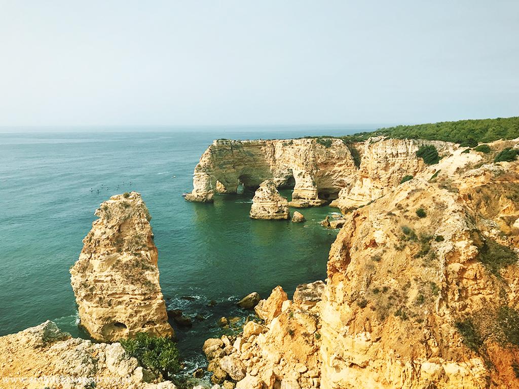marinha praia - Portugalia-informacje ogólne i wybrzeże Algarve