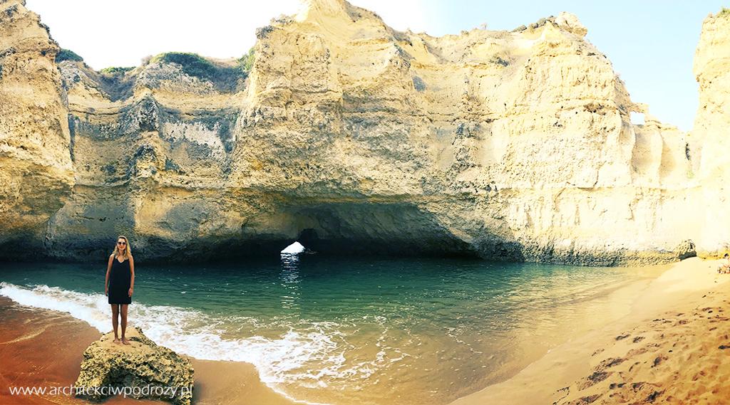 plaza ukryta - Portugalia-informacje ogólne i wybrzeże Algarve