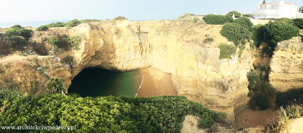 plaza ukryta1 - Portugalia-informacje ogólne i wybrzeże Algarve