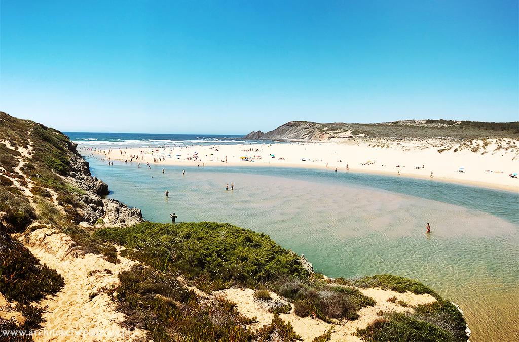 praia amoreira - Portugalia-informacje ogólne i wybrzeże Algarve