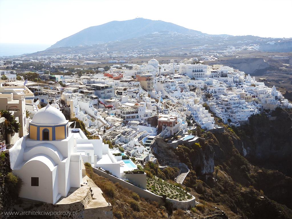 004 Santorini - Greckie Santorini w listopadzie