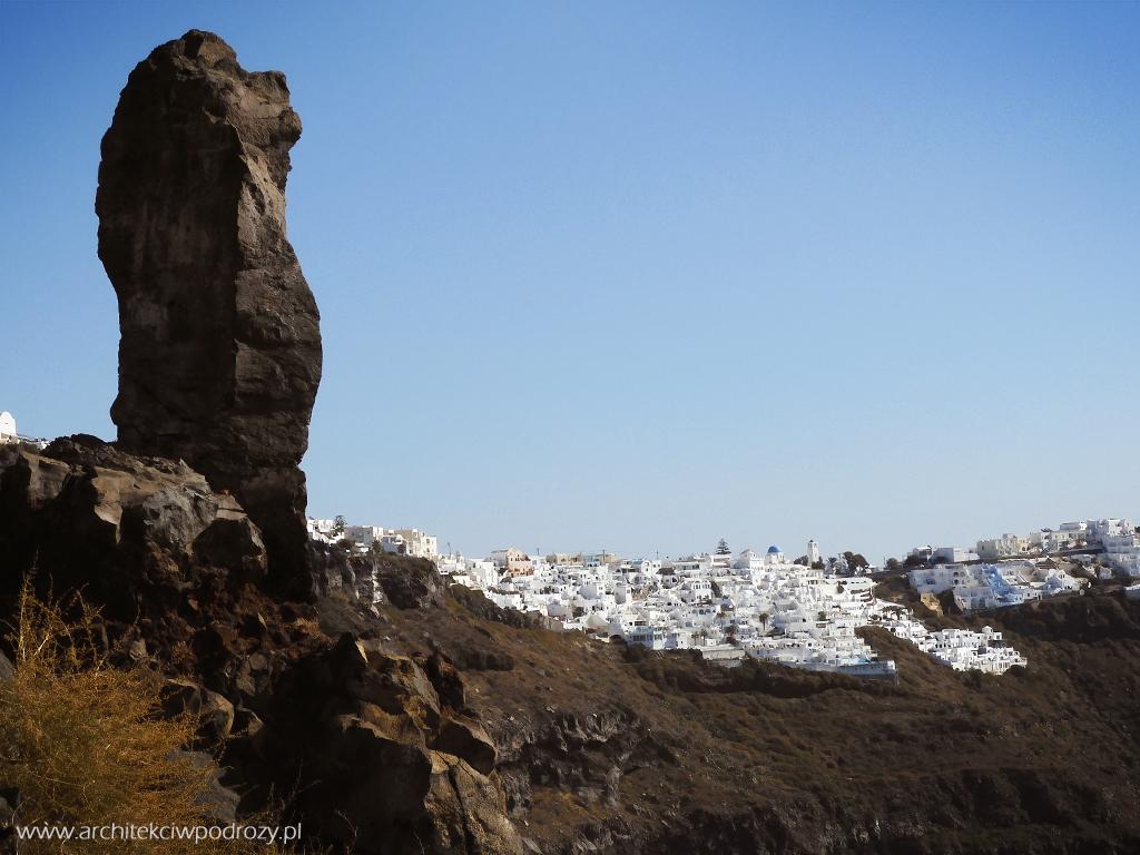 018 Santorini - Greckie Santorini w listopadzie