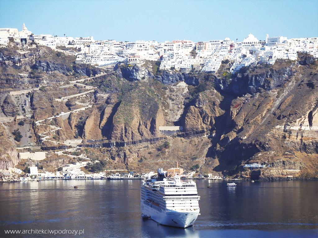 020 Santorini - Greckie Santorini w listopadzie