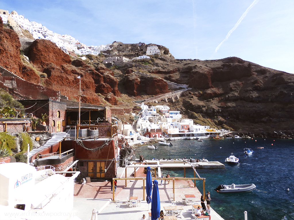 022 Santorini - Greckie Santorini w listopadzie