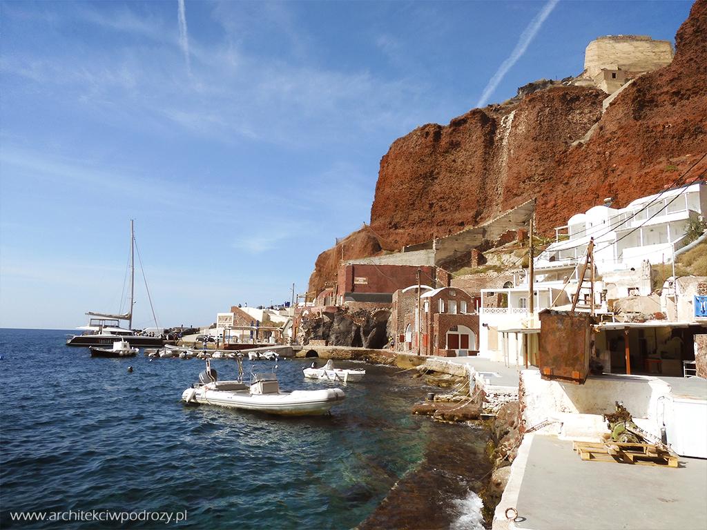 023 Santorini - Greckie Santorini w listopadzie