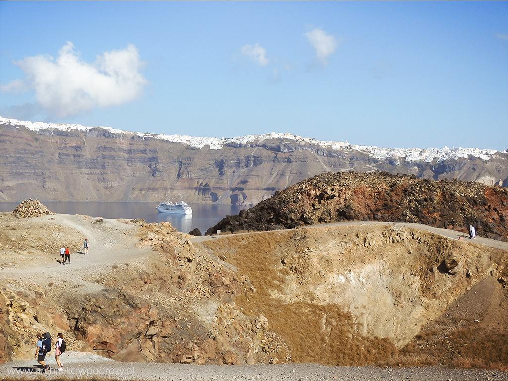 027 Santorini - Greckie Santorini w listopadzie
