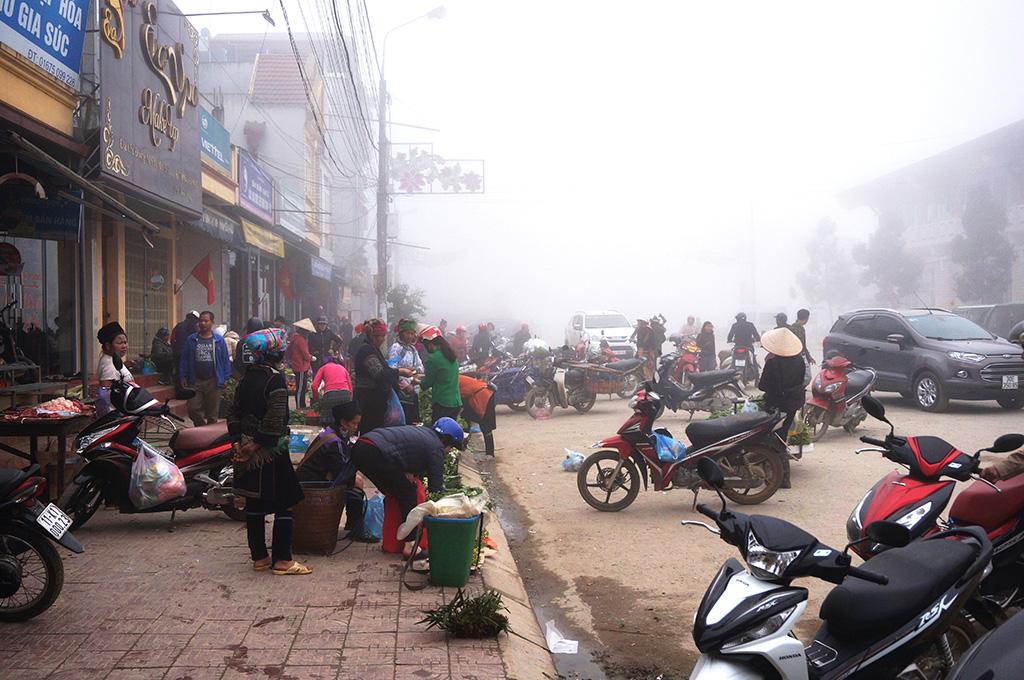 05 sapa we mgle - Wietnam