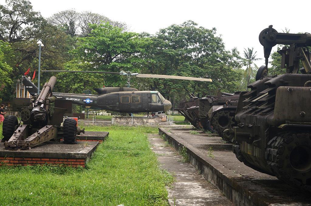 30 muzeum wojny hue - Wietnam